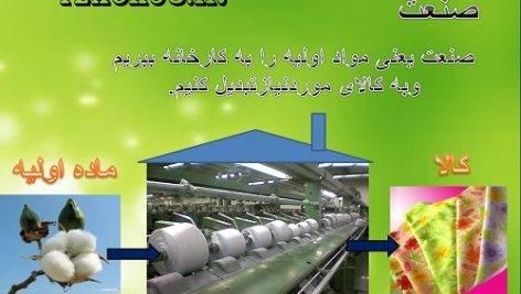 پاورپوینت نواحی صنعتی مهم ایران-اجتماعی پنجم