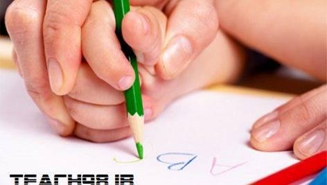 مراحل یادگیری نوشتن