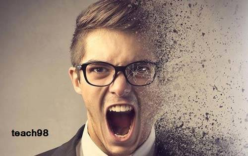 20 رفتار در مواقع عصبانیت